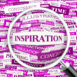 INSPIRATION.  — Stock Vector