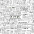 NETWORK.  — Image vectorielle