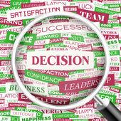 DECISION. — Stock Vector
