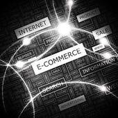 E-COMMERCE. — Stock Vector