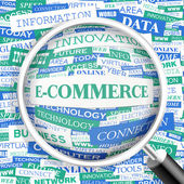 E-COMMERCE. — Stockvector