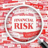 FINANCIAL RISK. — Stock Vector