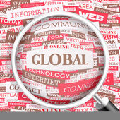 GLOBAL. — Stock Vector