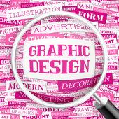 Grafický design. — Stock vektor