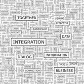 Integracja. — Wektor stockowy