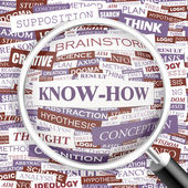 KNOW-HOW. — Stock Vector