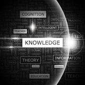 KNOWLEDGE. — Stock Vector