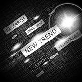 NEW TREND. — Stock Vector