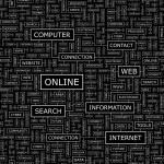 ONLINE. — Stock Vector
