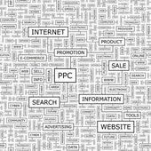 PPC. — Stock Vector