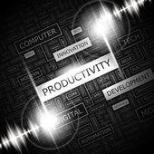 PRODUCTIVITY. — Stockvektor