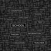 SCHOOL. — Stock Vector