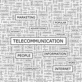 TELECOMMUNICATION. — Vector de stock