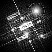 WEB 2 0. — Stock Vector