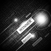WINNER. — Stock Vector