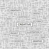 CREATIVE. — Stock Vector