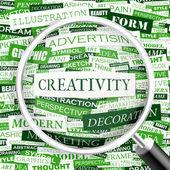 CREATIVITY. — Stock Vector