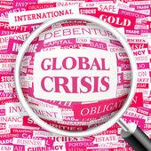 Crisis global. — Vector de stock