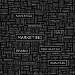 MARKETING. — Stockvektor
