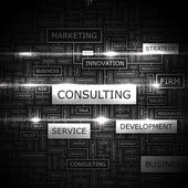 CONSULTING. — Vector de stock