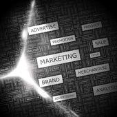 маркетинг. — Cтоковый вектор