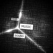 MUSIC. — Stock Vector