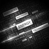 エネルギー. — ストックベクタ