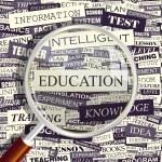 EDUCATION. — Stock Vector