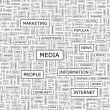 Royalty-Free Stock Imagen vectorial: MEDIA.