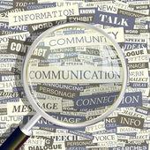 COMMUNICATION. — Stock Vector