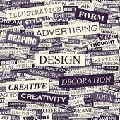 DESIGN. — Stock Vector