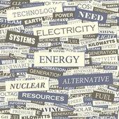 ENERGY. — Stock Vector