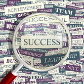 SUCCESS. — Stock Vector