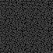 Electronic circuit board. Seamless pattern. — ベクター素材ストック