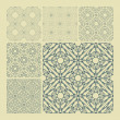 Seamless geometric pattern. — Vettoriali Stock