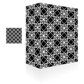 Packaging box. Seamless pattern. — Stock Vector