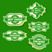 Sticker set for design. — 图库矢量图片