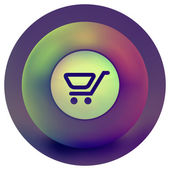 Shopping icon. — Stockvector