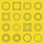 Graphic elements — Stock Vector
