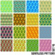 Seamless pattern. — Stock Vector #34508709
