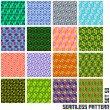 Seamless pattern. — Stock Vector #34508723