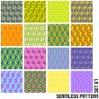 Seamless pattern. — Stock Vector #34509019