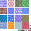 Seamless pattern. — Stock Vector