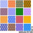 Seamless pattern. — Stockvectorbeeld
