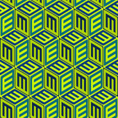 Seamless abstract pattern — Stockvektor