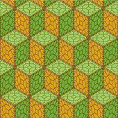 Naadloze abstracte patroon — Stockvector