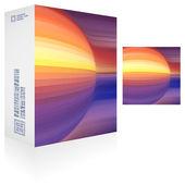 Packaging box — Stock vektor
