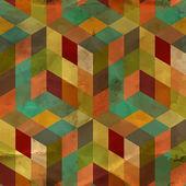 Naadloze vintage patroon — Stockvector