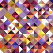 Seamless mosaic pattern — Stockvectorbeeld