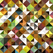 Seamless mosaic pattern — Stock Vector